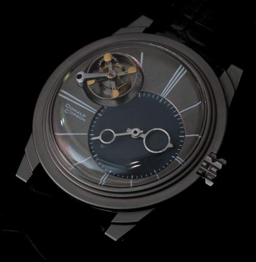 UFO-Tourbillon handmade watch